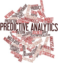 Word cloud for Predictive analytics