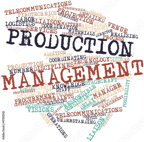 production management Advertisements: read this article to learn about the objectives and intermediate objectives of production management objectives of production management: the objective of the production management is stated as: to produce goods services of right quality and quantity at the predetermined time and pre established cost.
