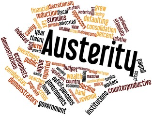 Word cloud for Austerity