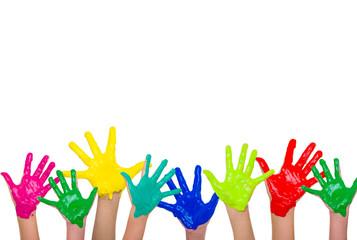 colour hands