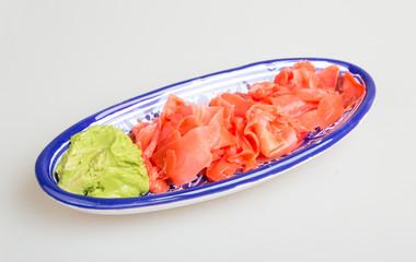 Wasabi and Sushi Ginger