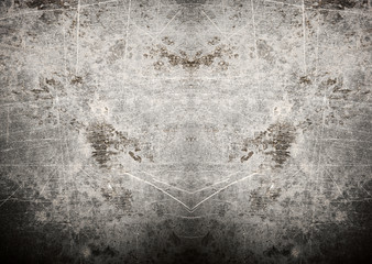 Grey grunge background with scratches