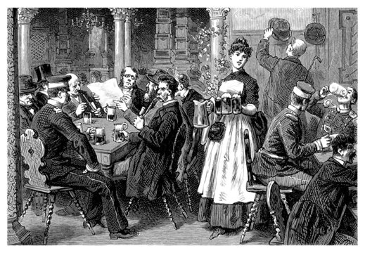 Country Tavern - 19th century