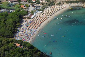 Isola d'Elba-Fetovaia beach