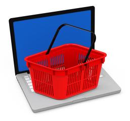 Das Shoppen im Internet