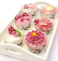 Fototapete - Cupcakes