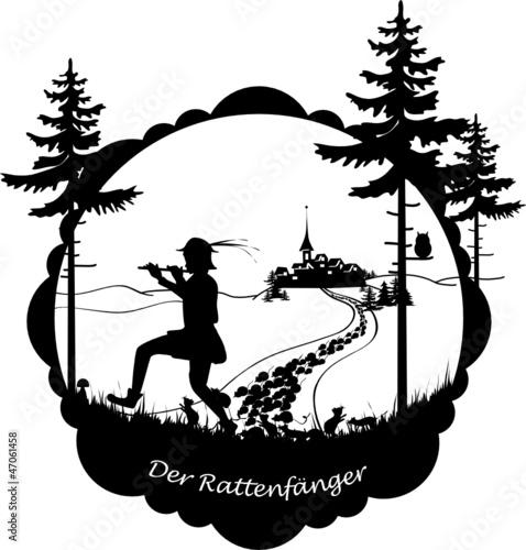 """Préférence Der Rattenfänger von Hameln"""" Stockfotos und lizenzfreie Vektoren  PF65"""