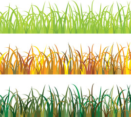 seamless pattern Grass