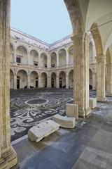 europe, italy, sicily, catania university palace