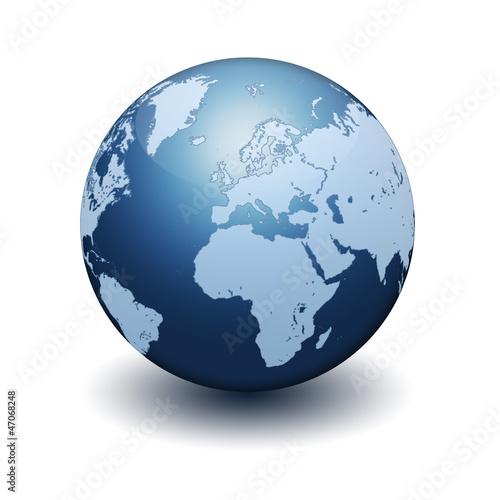 Globus Weltkugel Karte.3d Globe Globus Weltkugel Weltkarte World Map Erde Earth Globus