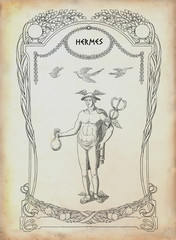 Greek god Hermes