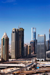 Dubai is synonymous with skyscrapers along Sheikh Zayed Road