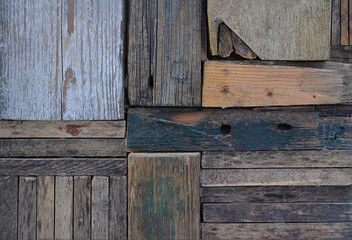 Incastri di legno