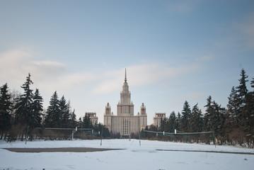 Lomonosov Moscow State University, Main Building.