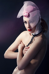 Beautiful naked woman
