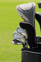 golf club in a bag