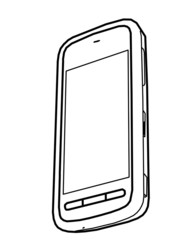 drawing mobile phone