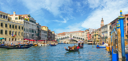Venice, View from Rialto Bridge. Italy. Fototapete