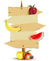 Cartello Frutteto