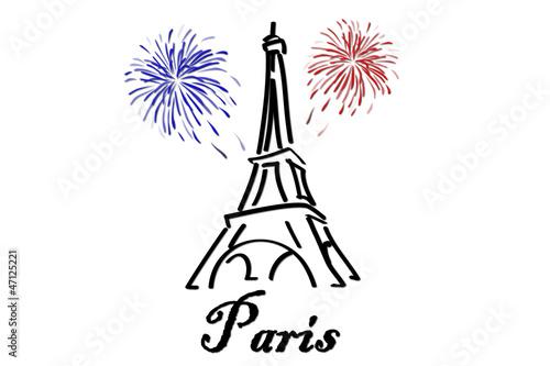 U0026quot Ic U00f4ne Tour Eiffel
