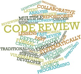 Word cloud for Code review