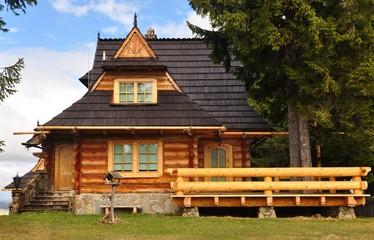 Fototapeta Drewniany domek obraz