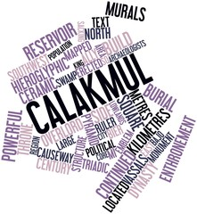 Word cloud for Calakmul