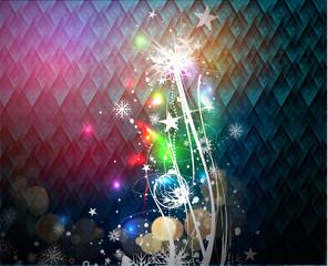 colourful christmas design, eps10 vector illustration