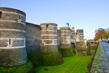 Castle of Angers, France