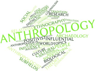 Word cloud for Anthropology