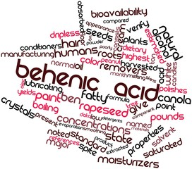 Word cloud for Behenic acid