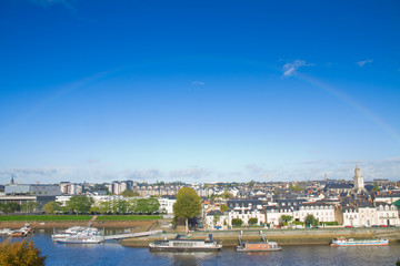 view of Angers, France