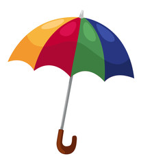vector umbrella isolated on white background vector