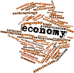 Word cloud for Economy