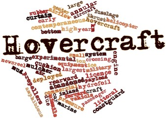Word cloud for Hovercraft