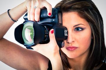 femme photographe