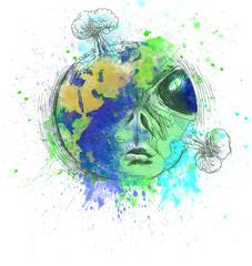 green nature - alien world