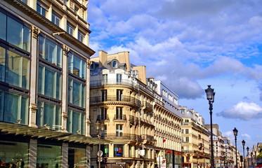 Fotorolgordijn Algerije Immeubles d'une grande rue