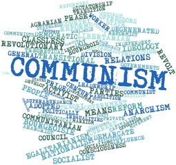 Word cloud for Communism