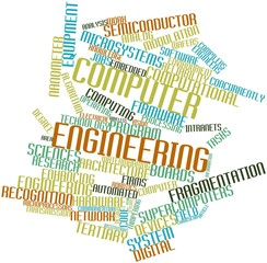 Word cloud for Computer engineering