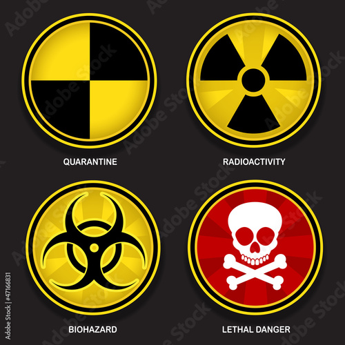 Hazard Symbols Signs Stock Image And Royalty Free Vector Files On