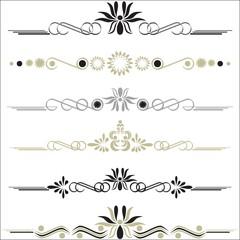 Vintage vector elements (eps10)