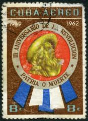 CUBA - 1962: devoted 3rd Anniversary of the Revolution