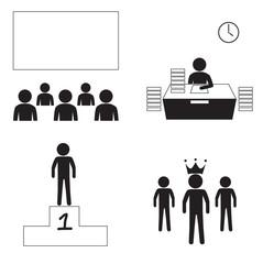 marketing man Icons
