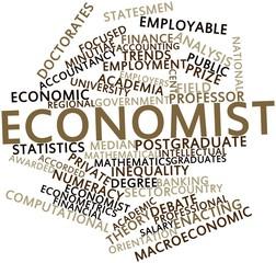 Word cloud for Economist
