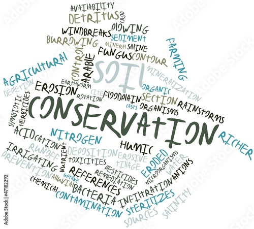 Word cloud for soil conservation stock photo and royalty for Words for soil