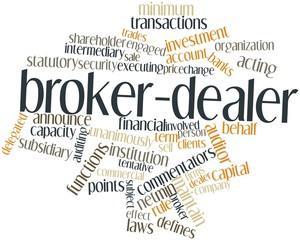 Word cloud for Broker-dealer