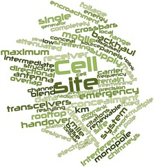 Word cloud for Cell site