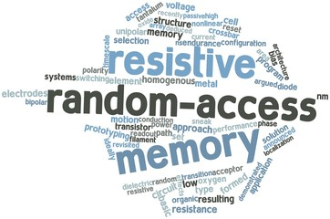 Word cloud for Resistive random-access memory