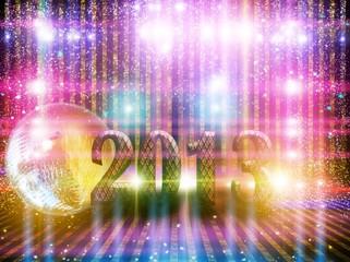 2013 and flashing lights.